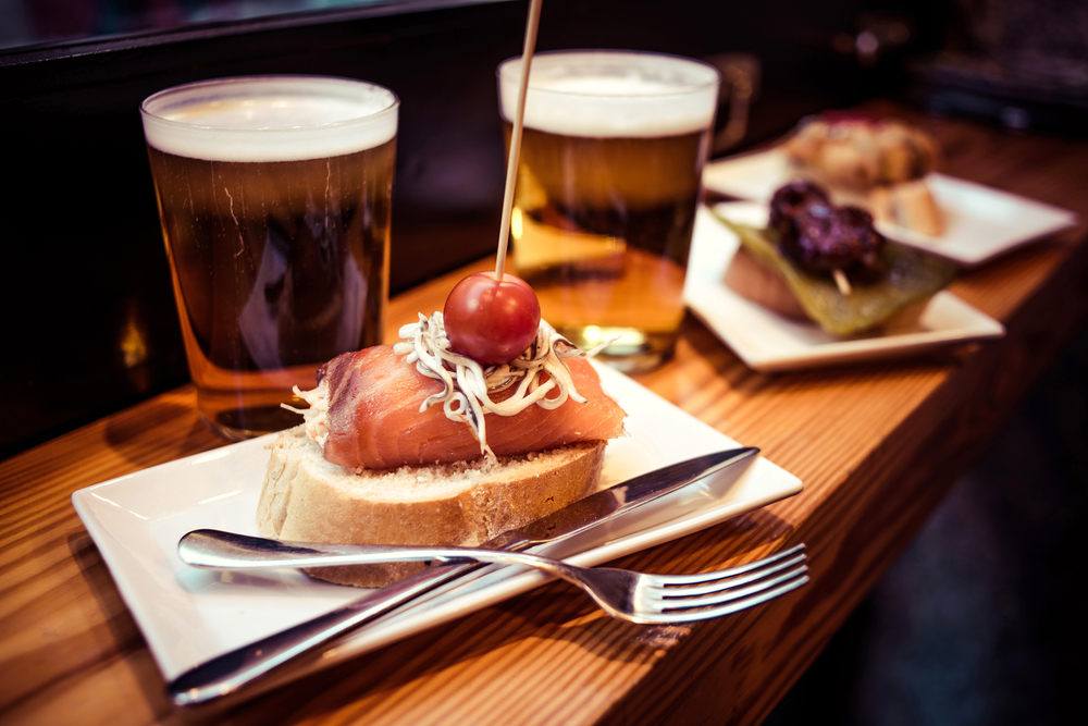 留学中に食べたいスペイン料理 タパス