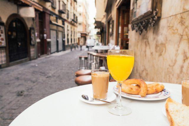 スペイン セビリア(セビーリャ)のカフェ