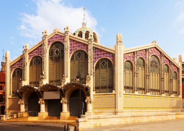 スペイン バレンシアの中央市場