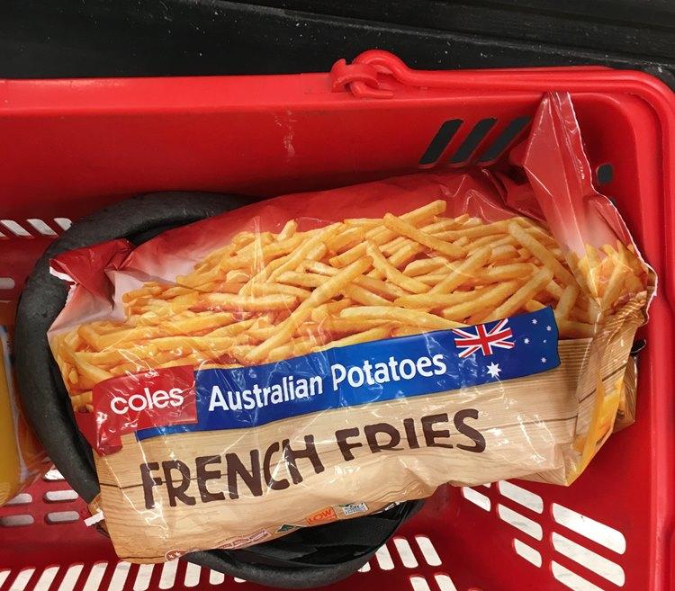 オーストラリアのフライドポテト