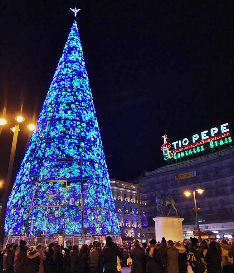 ヨーロッパの夜のクリスマス