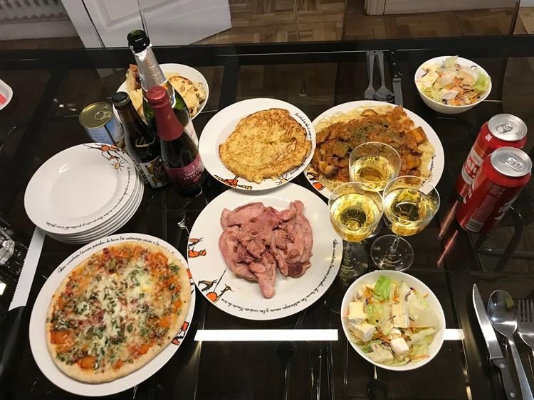ヨーロッパのクリスマス料理