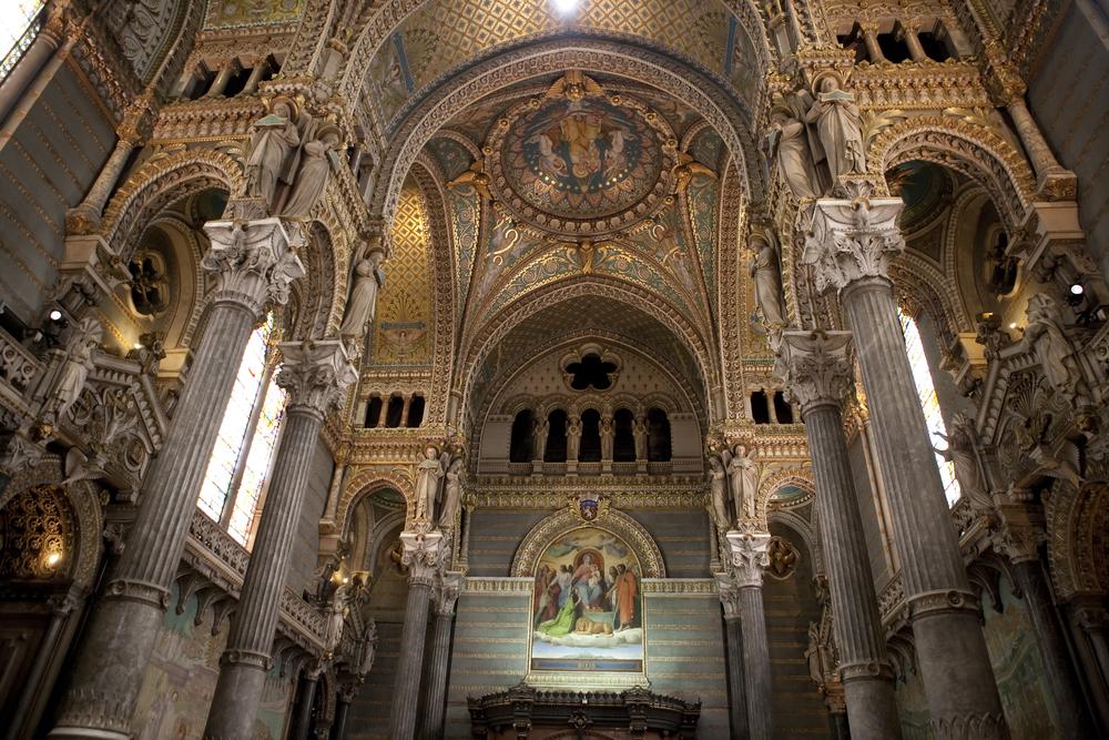 リヨン フルヴィエールのノートルダム大聖堂