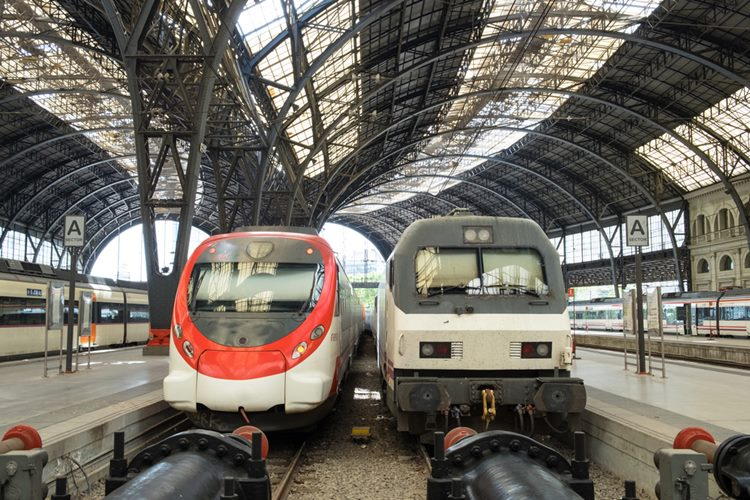 スペイン電車