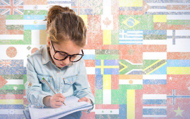 非英語圏で留学