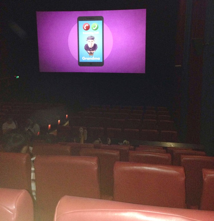 映画館座席
