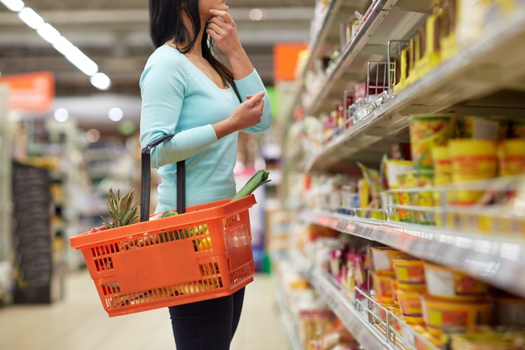 スペインのスーパーマーケット