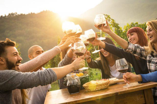 ボルドーでワインテイスティング