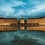 フランス ボルドー留学ー幻想的な「月の港」でワイン片手に語学を習得