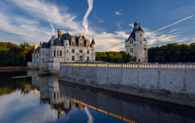 フランス トゥールのシュノンソー城