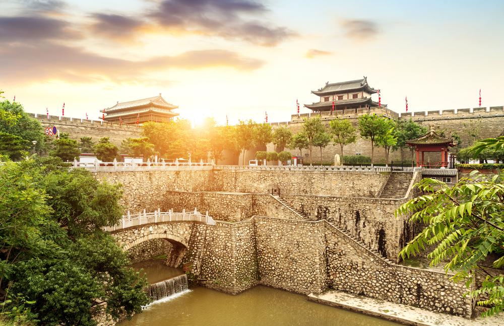 西安古城壁