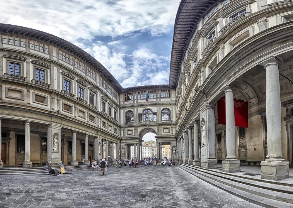 イタリア フィレンツェのウフィツィ美術館