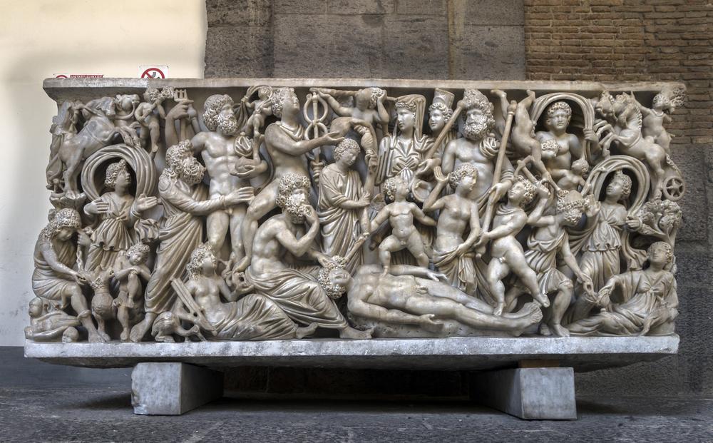 イタリア ナポリの国立考古学博物館