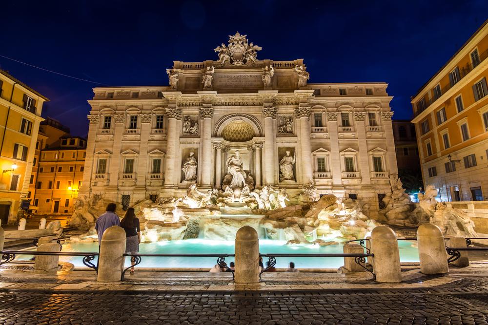 イタリア ローマのトレヴィの泉