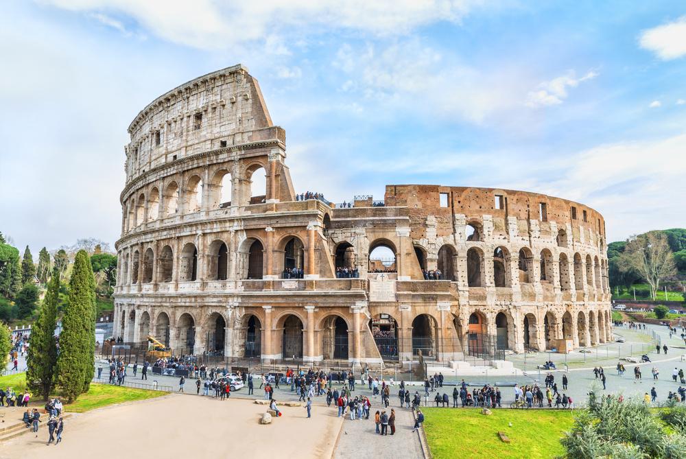 イタリア ローマのコロッセオ