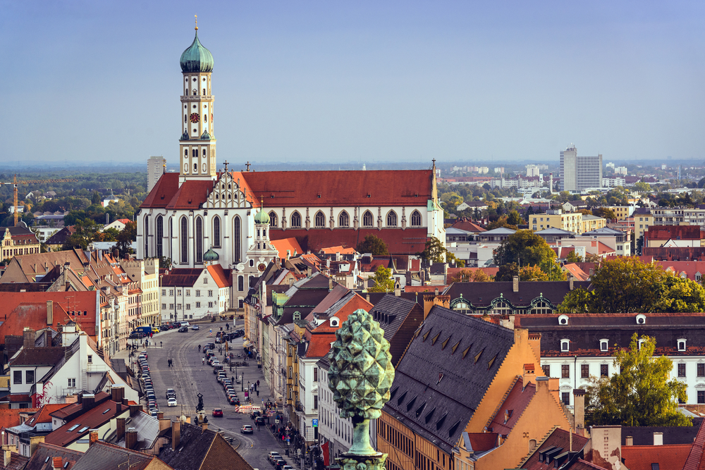ドイツ アウクスブルク市庁舎