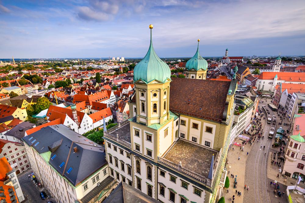 ドイツ アウクスブルクで語学留学