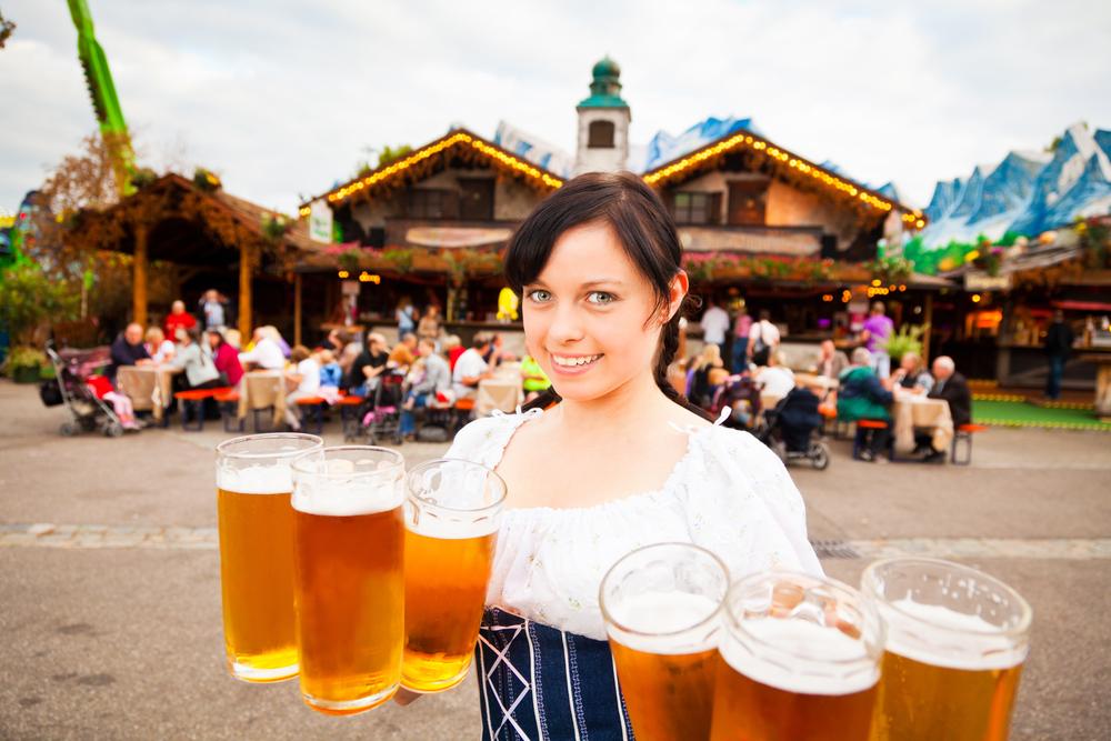ドイツビールのカンシュタッター・フォルクスフェスト