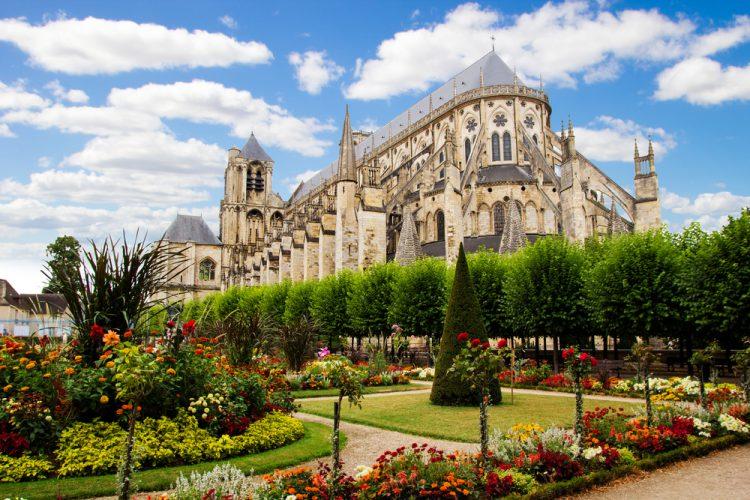 フランス ブールジュのサン=テチエンヌ大聖堂