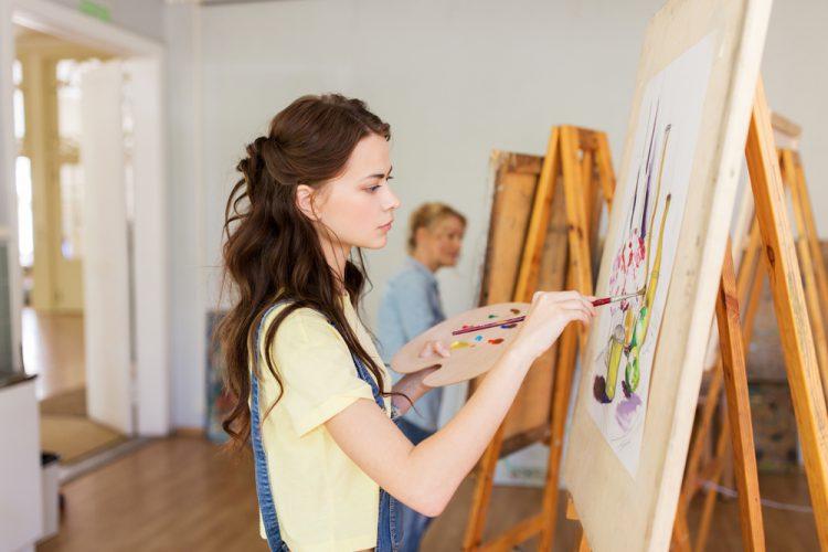 フランス ブールジュのアートスクール