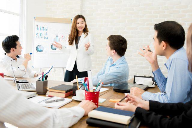 語学学校のビジネス英語コース