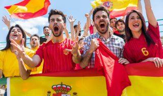 スペインのサッカー観戦