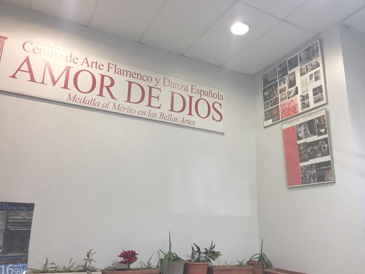 Amor de Diosというダンス教室