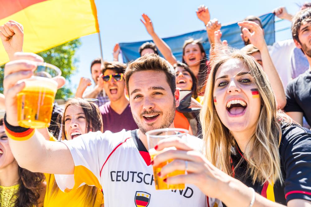 ドイツ サッカー観戦