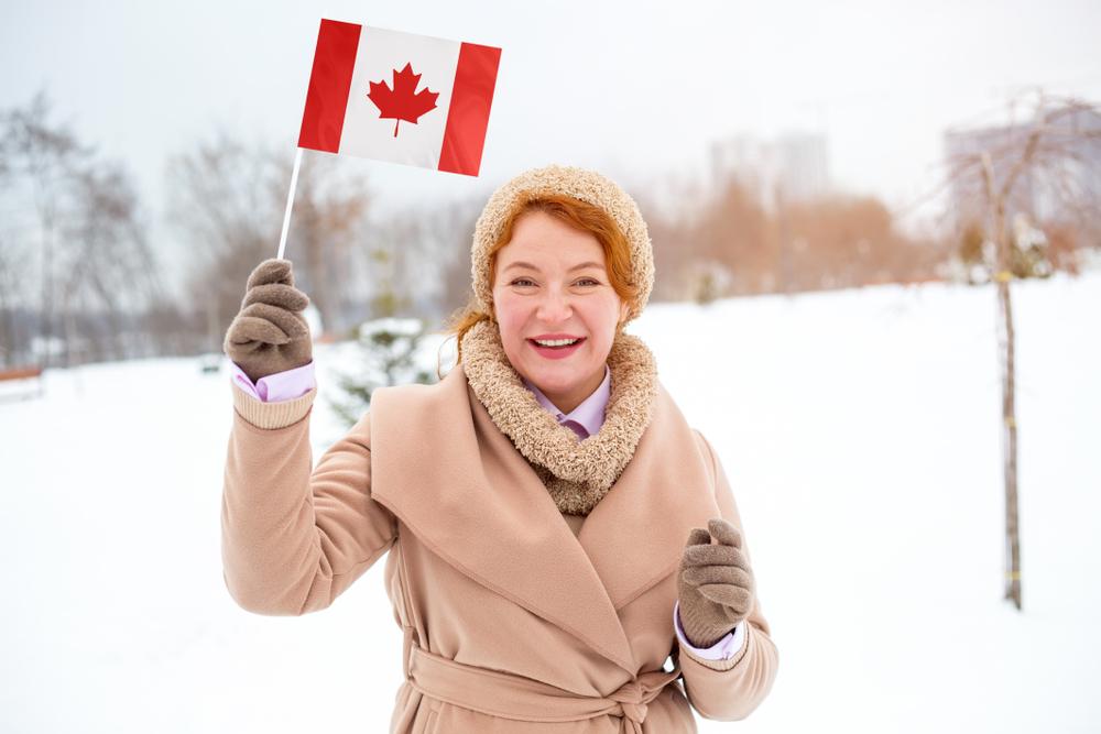 カナダの女性