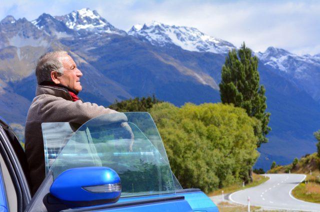 ニュージーランド シニア留学でドライブ