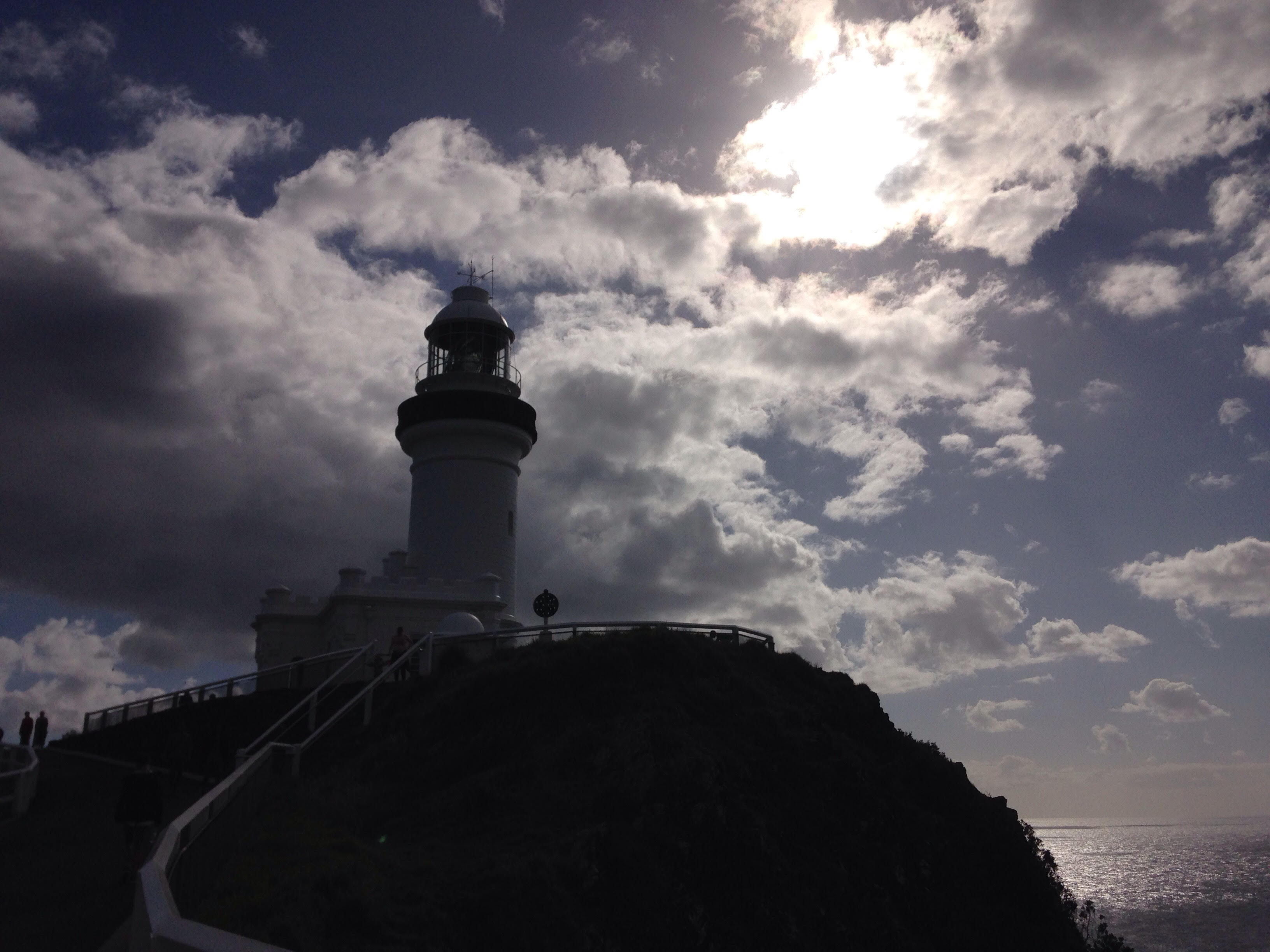 オーストラリア バイロンベイの灯台