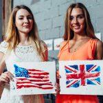 アメリカとイギリス