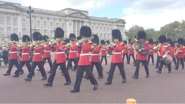 イギリス衛兵