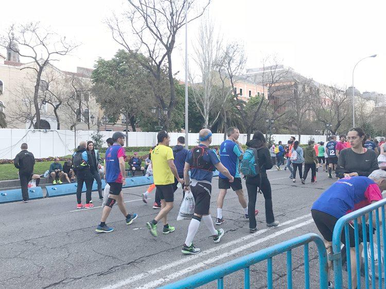 マドリードマラソン大会