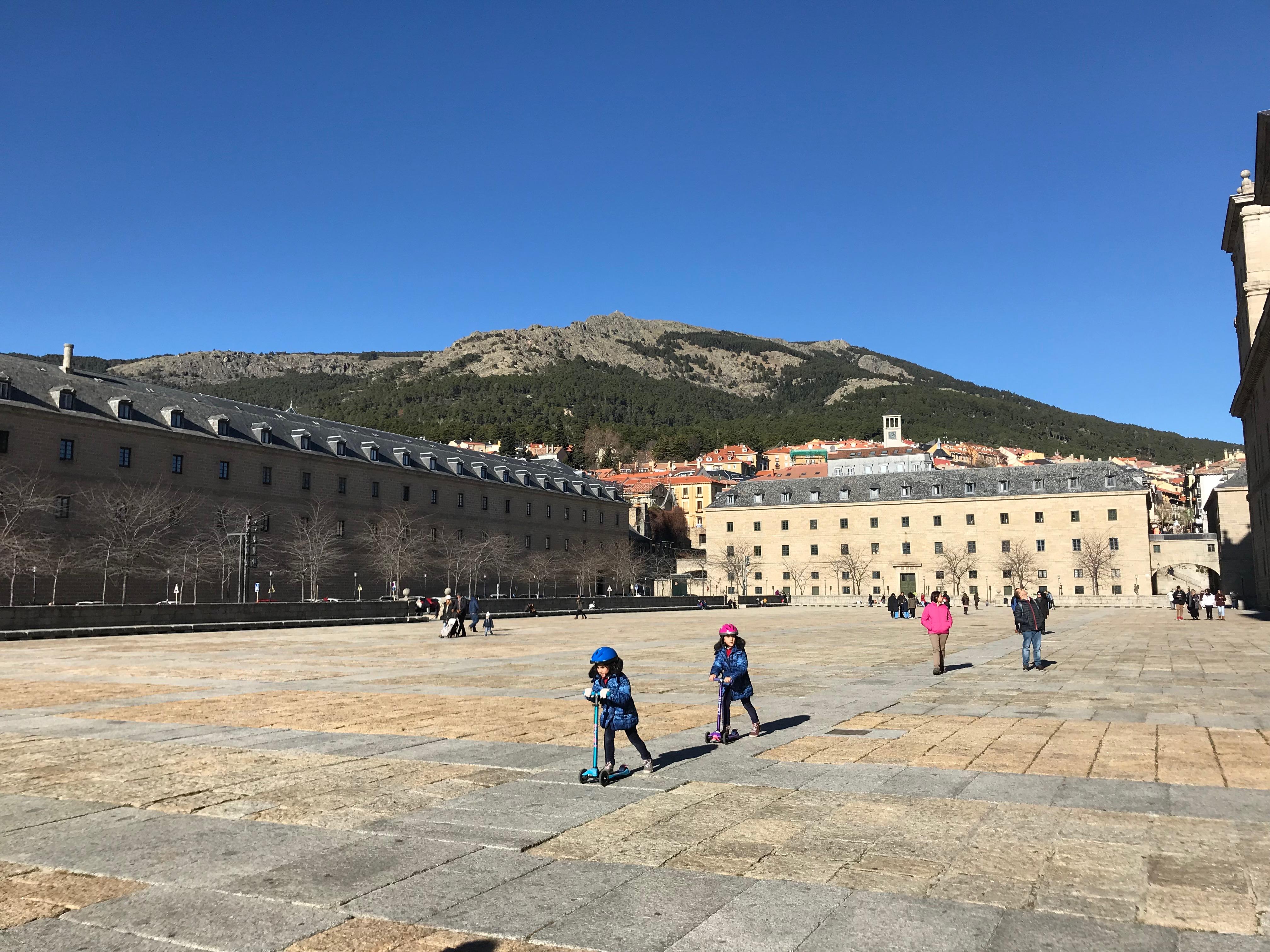 スペインのエル・エスコリアル(修道院)