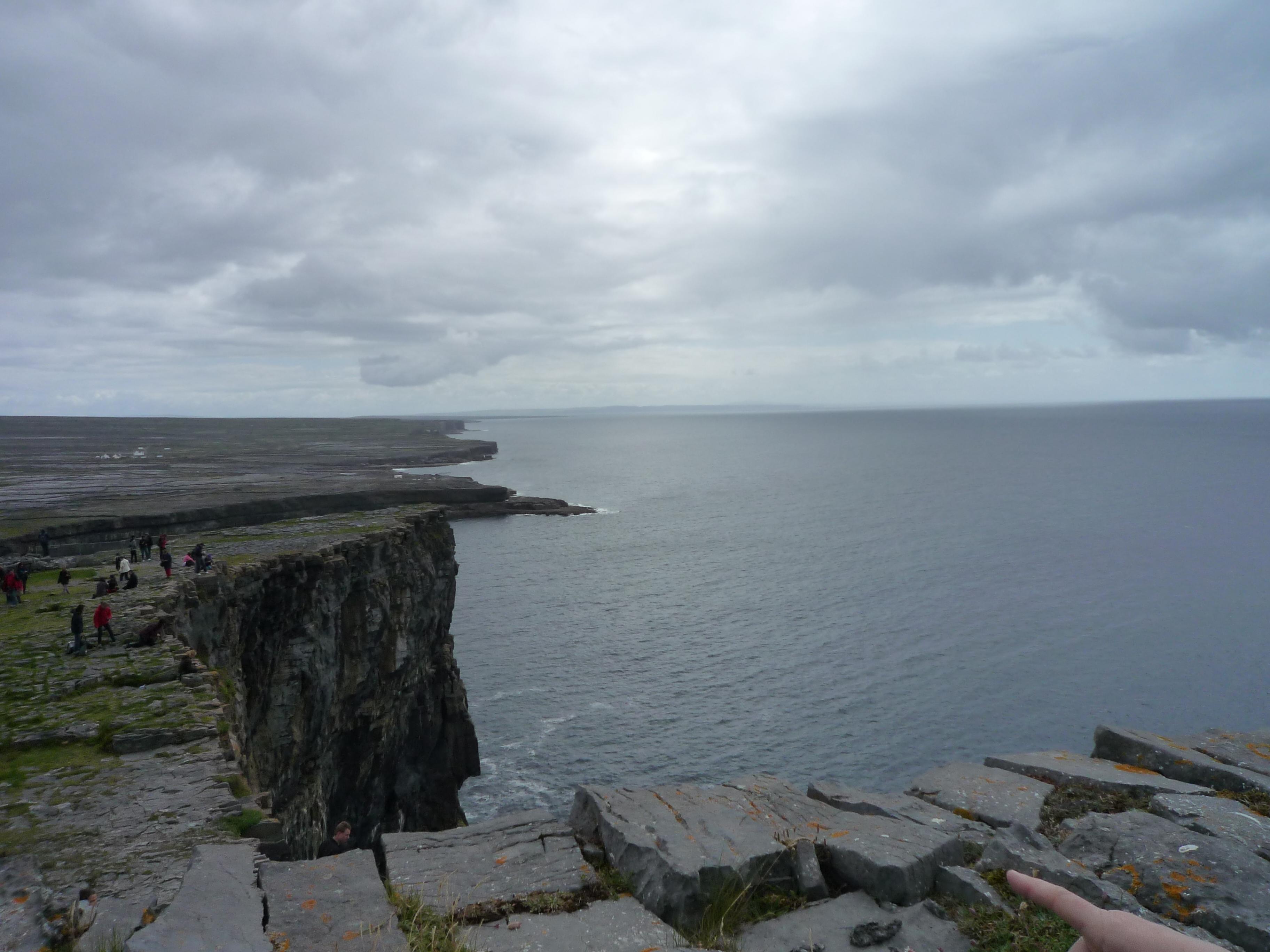 アイルランドのモハーの断崖