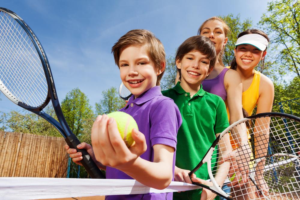 ジュニア留学でテニス体験