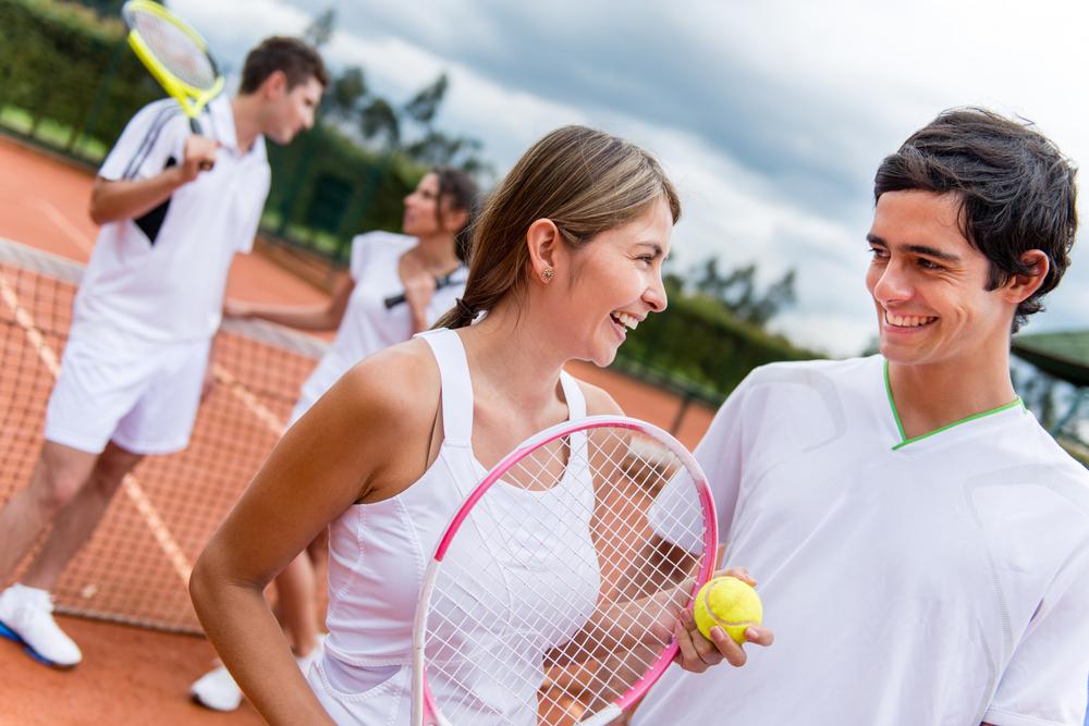 スポーツ留学でテニス体験