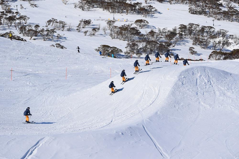 オーストラリアのスキー場