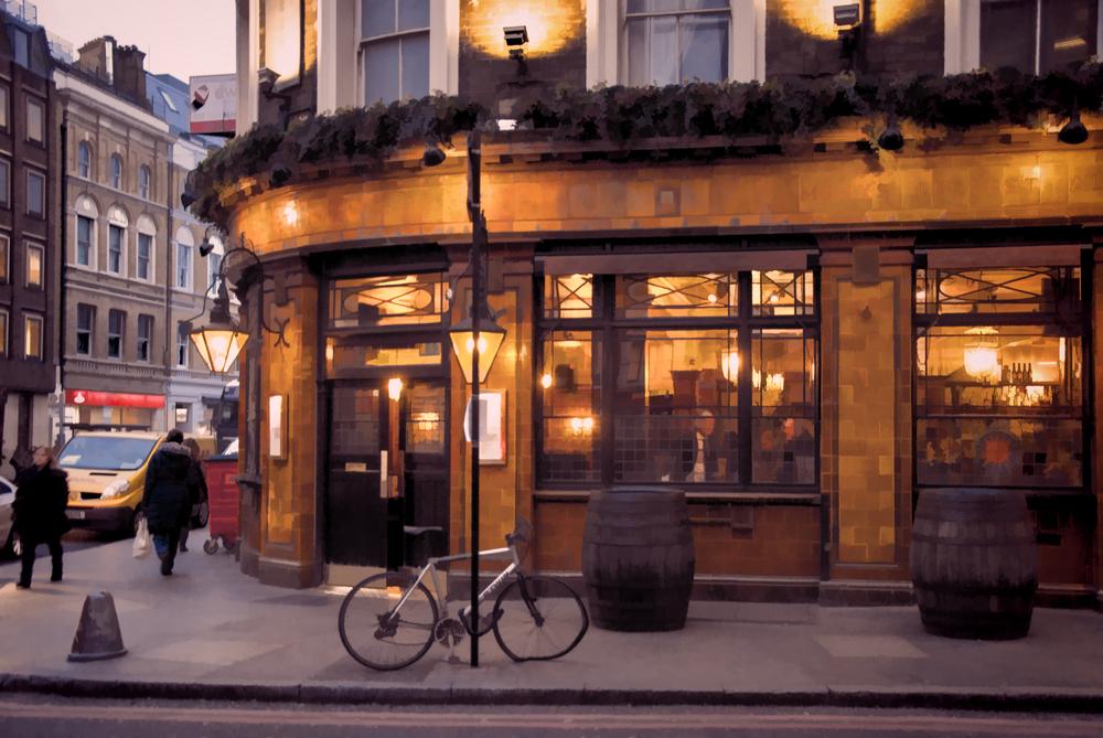 イギリスのカフェ