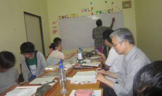 語学学校のクラス