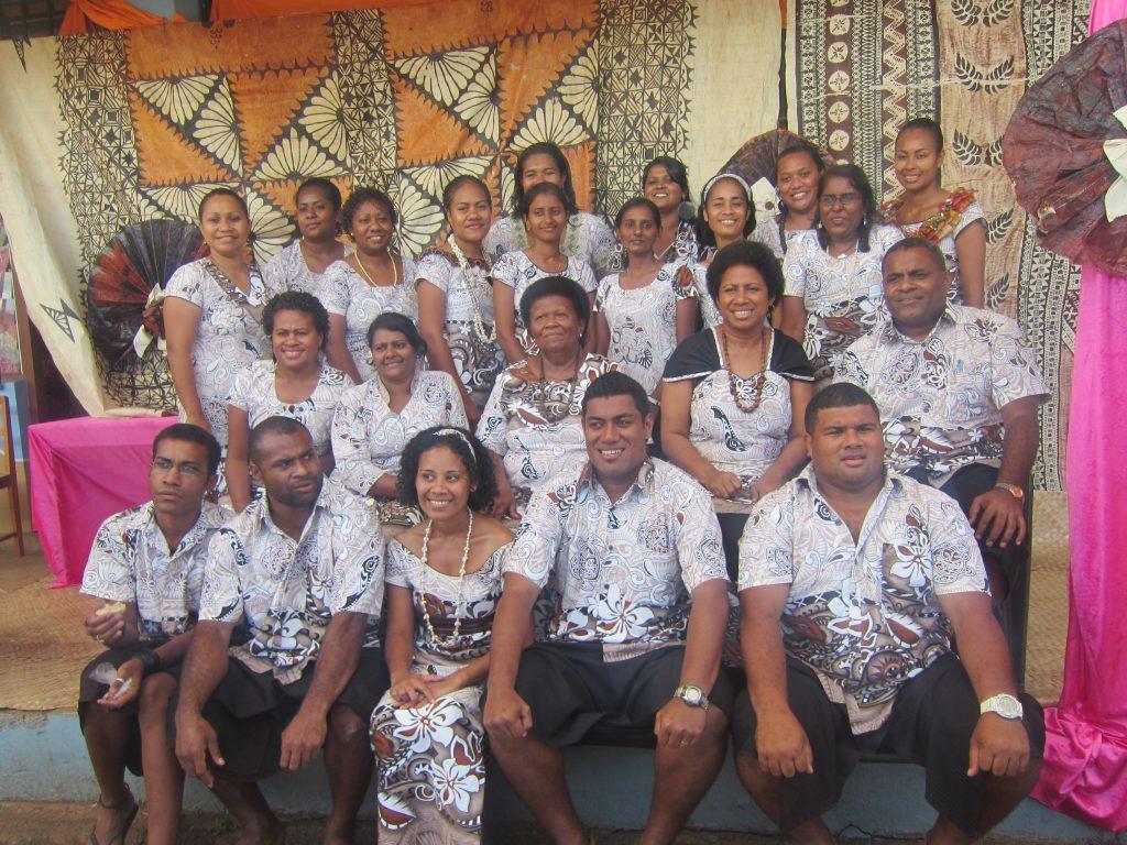 フィジーの語学学校の人々