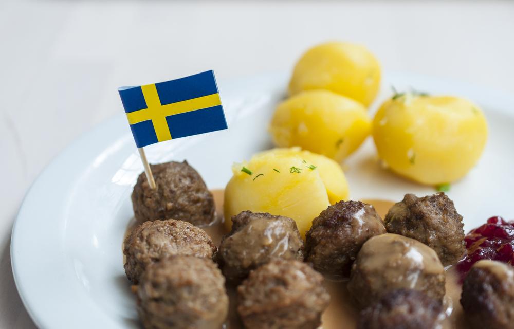 スウェーデンの料理