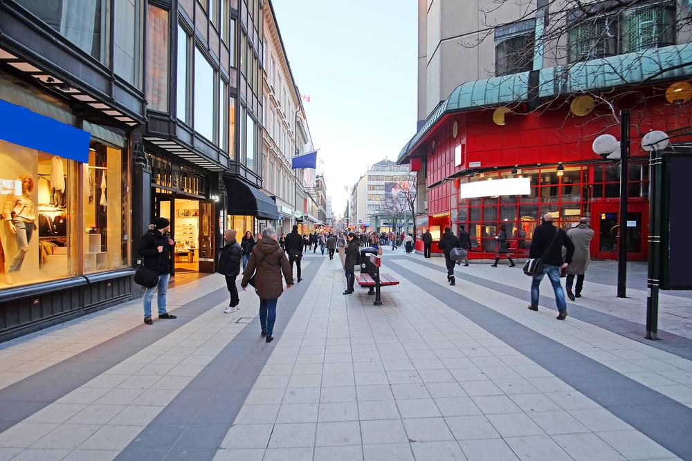 スウェーデンの街