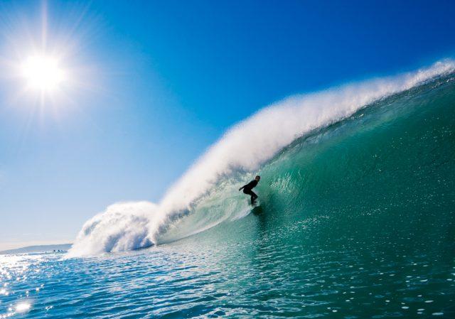 カリフォルニアサーフィン