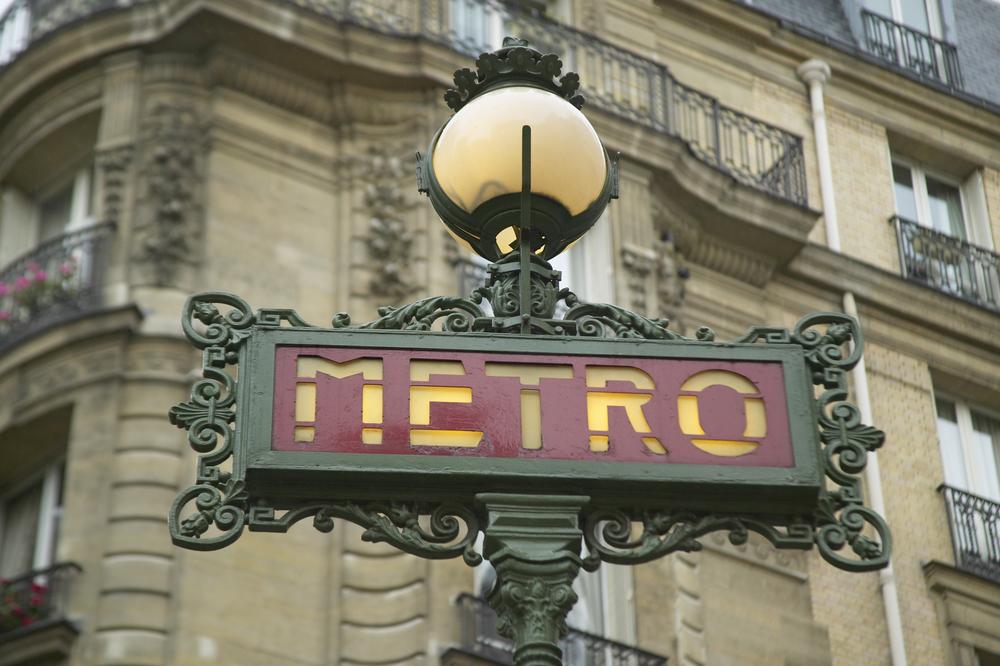 フランス パリのメトロ
