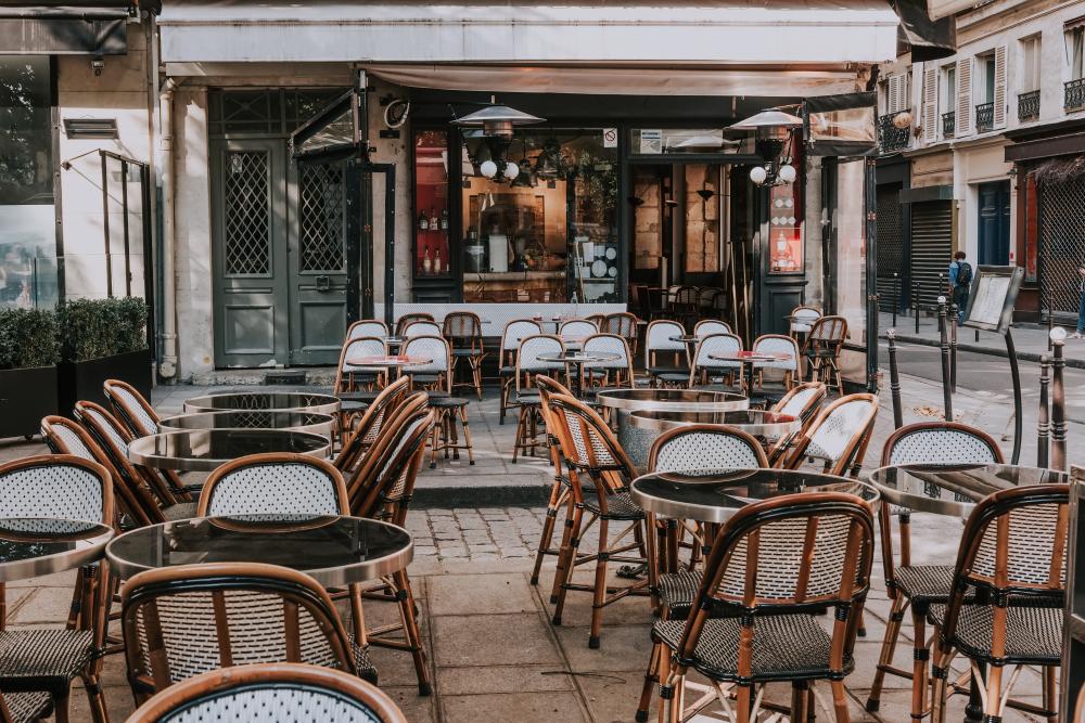 フランス パリのカフェ