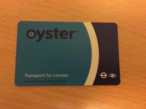 イギリスのOystar Card