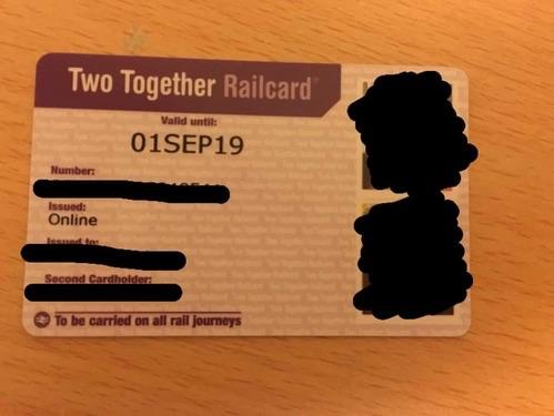 イギリスのRail Card