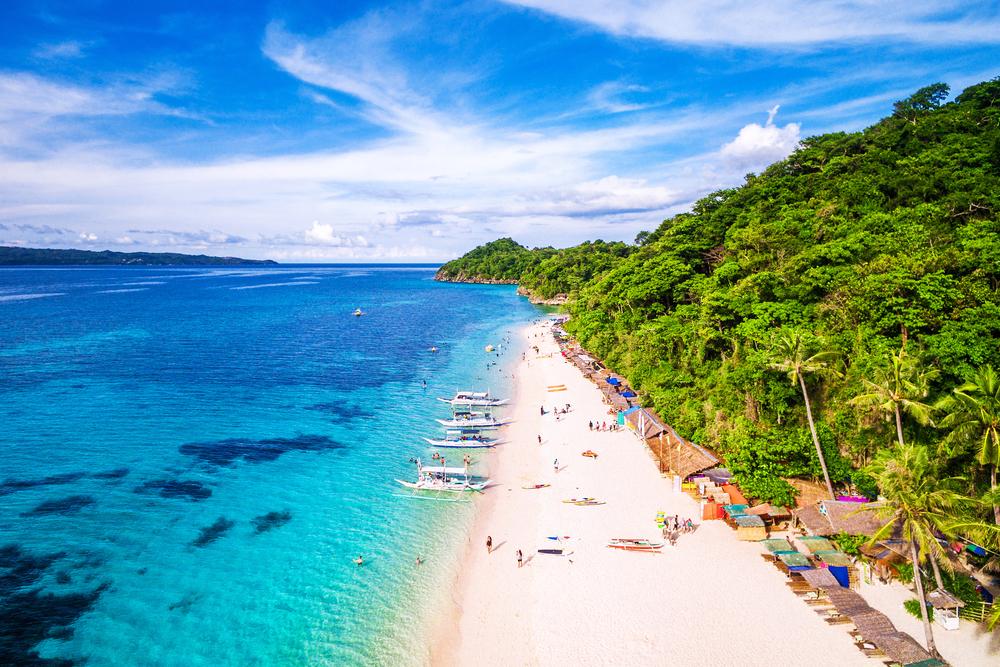 フィリピンのビーチ